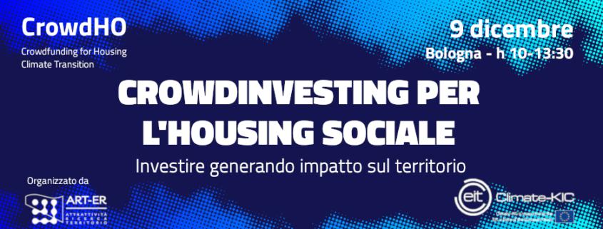 Crowdinvesting per l'housing sociale - Investire generando impatto sul territorio