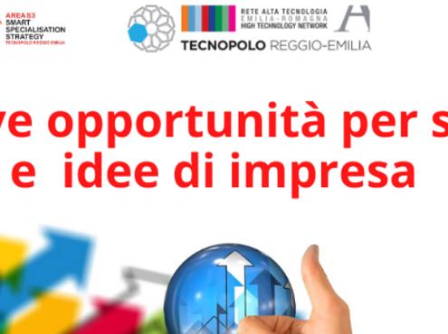 Le nuove opportunità per le startup e le idee di impresa