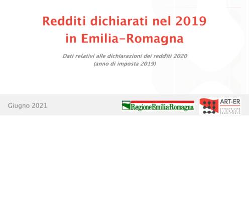 Redditi Emilia-Romagna 2019