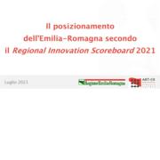 Pubblicazione Regional Scoreboard 2021